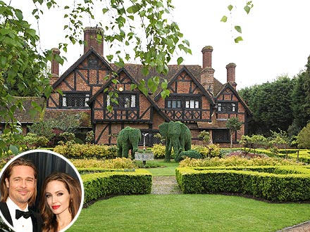 Angelina Jolie, Brad Pitt Engaged -- and Buying House in London?