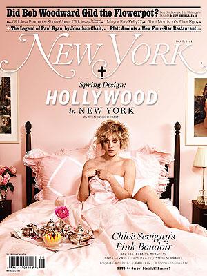 Chloe Sevigny Naked New York Cover