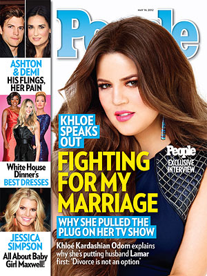Khloe Kardashian, Lamar Odom Marriage: Divorce Is Not an Option She Says