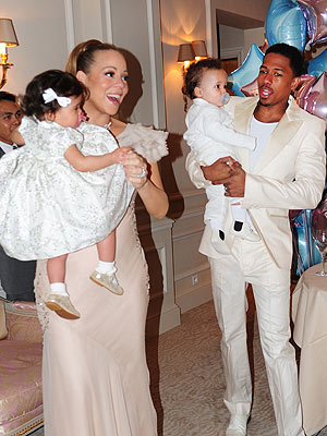PHOTO: Mariah & Nick's Twins Turn One - In Paris!