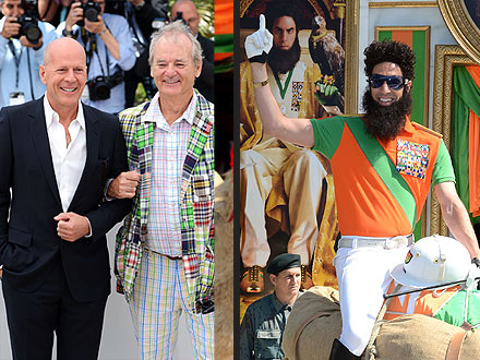 bruce willis 440 Cannes Film Festival Welcomes a Slew of Celebrities