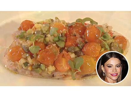 Sofia Vergara's Favorite Gourmet Fish Dish