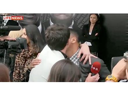 Will Smith Justified Slapping Kissing Reporter?
