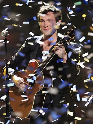 Phillip Phillips, American Idol Winner, Isn't Done Shedding Tears of Joy