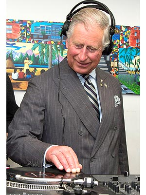 Prince Charles Deejays in Toronto