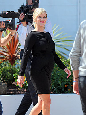 Reese Witherspoon Pregnant; Shows Off Baby Bump at Cannes Film Festival