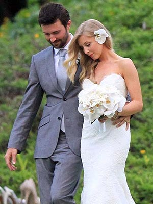 Brandon Jenner's Romantic Wedding Photo