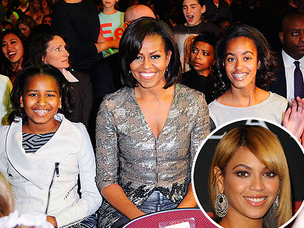 Michelle Obama Takes Sasha & Malia to Beyonc&#233; Concert