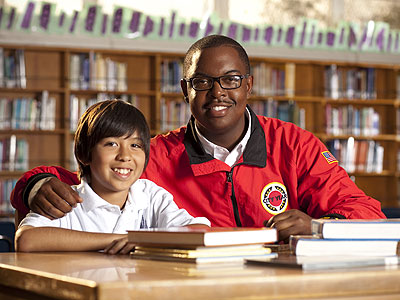 University of California Grad Aaron Clark Mentors Through Americorps' City Year