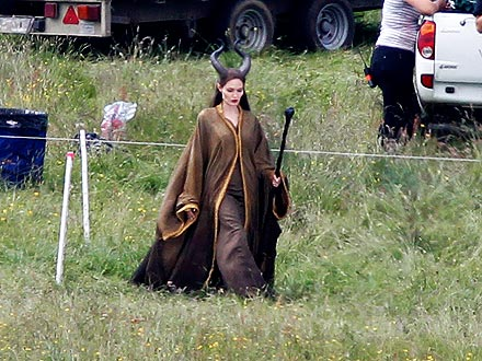 Angelina Jolie as Maleficent: See On-Set Pictures