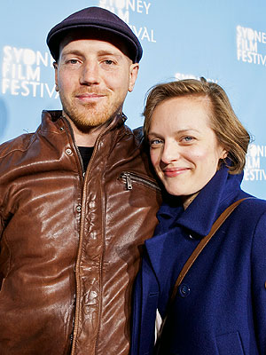 Elisabeth Moss with cool, Boyfriend Adam Arkapaw