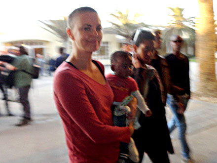 Charlize Theron Shaves Head for Mad Max: Fury Road