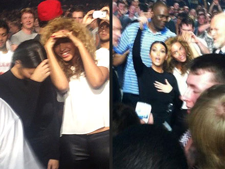 Beyonce and Kim Kardashian Party Like BFFs