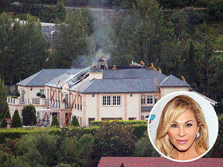 Adrienne Maloof Describes Fear, Scramble from Neighbor's Mansion Fire