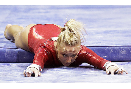 Nastia Liukin Falls at Olympic Trials But Thanks Supporters