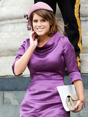 Princess Eugenie Graduates College