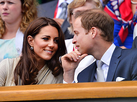 Wimbledon: Prince William and Kate Watch Roger Federer vs. Mikhail Youzhny