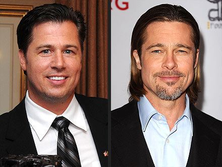 Brad Pitt's Brother Doug Pitt Does Ad for Virgin Mobile Australia
