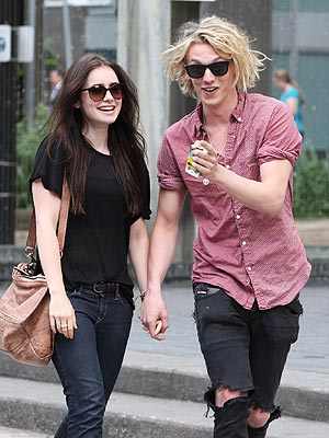 Lily Collins Dating Jamie Campbell Bower? His Engagement to Bonnie Wright Is Off