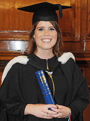 Princess Eugenie Poses in a Graduation Cap and Gown | Princess Eugenie