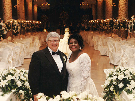Roger Ebert and Chaz Ebert Celebrate 20th Wedding Anniversary
