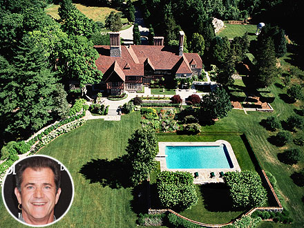 Mel Gibson's Former Connecticut Estate Goes on Sale for $33 Million