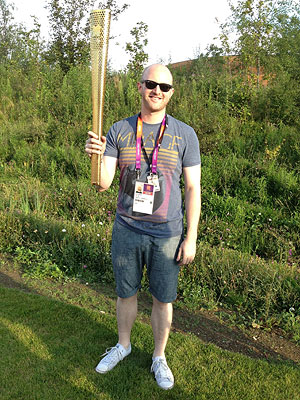 Opening Ceremony London 2012: Peter Hegan Performed at the Olympics