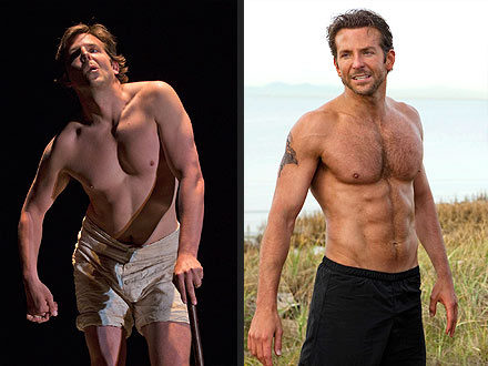 Bradley Cooper Shaves Chest for 'The Elephant Man'