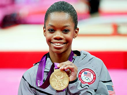 Gabby Douglas Wins All-Around Gold in Women's Gymnastics