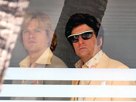 Michael Douglas, Matt Damon Play Liberace and Lover