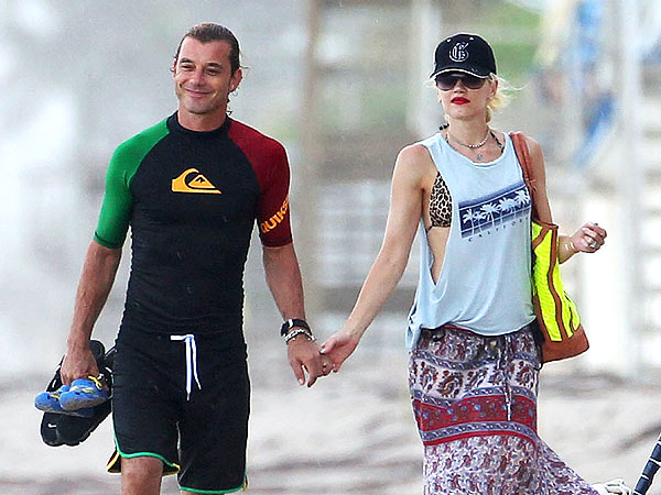 Gwen Stefani's Family Hits the Beach in Florida | Gavin Rossdale, Gwen Stefani
