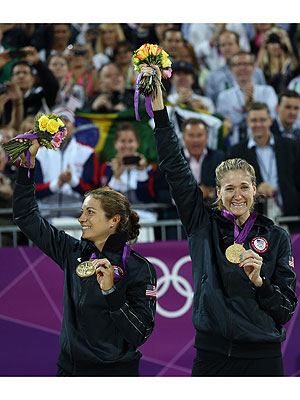 Misty May Treanor, Kerri Walsh Jennings Reflect on Beach Volleyball Gold