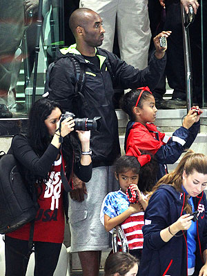 London 2012 Olympic Games: Kobe Bryant's Family Experience