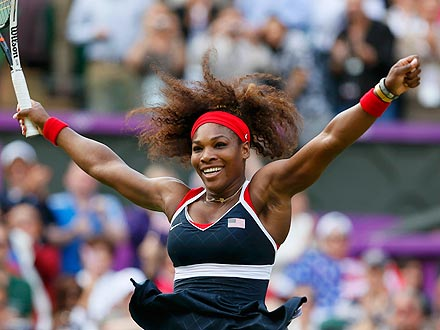 Olympics: Serena Williams Bests Maria Sharapova to Win Gold