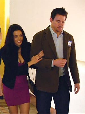 Channing Tatum, Jenna Dewan Costar in '10 Years'