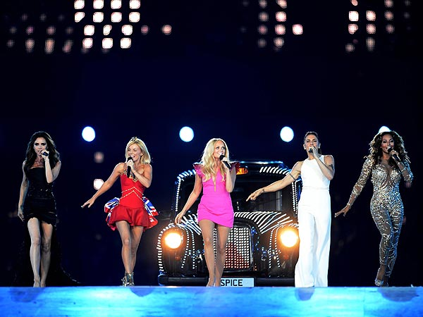 Olympics London 2012 Closing Ceremony: Spice Girls, One Direction