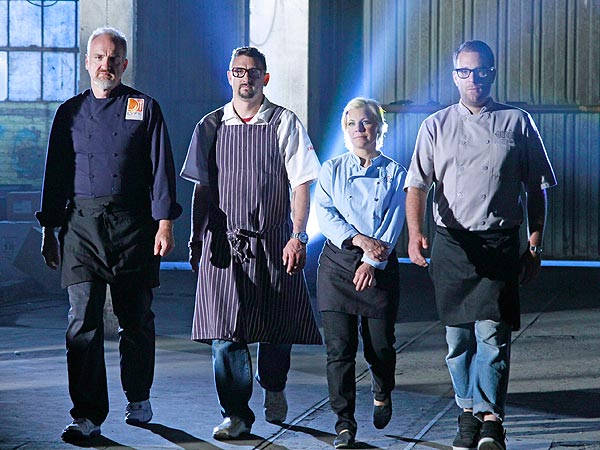 Time Machine Chefs - Art Smith, Ilan Hall Star in ABC Show