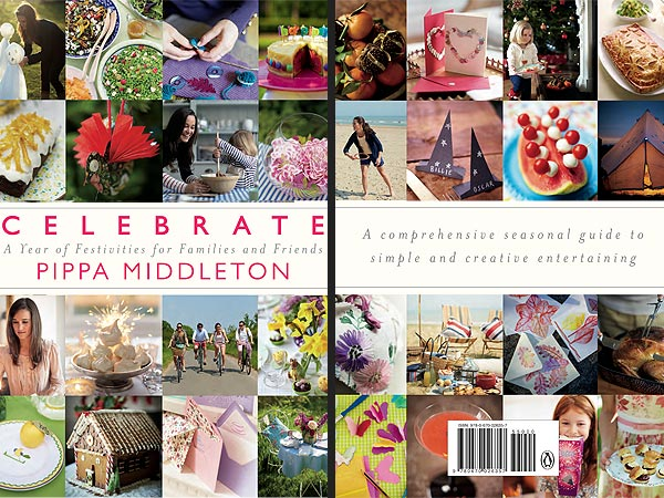 Pippa Middleton 'Celebrate' Book Cover Revealed