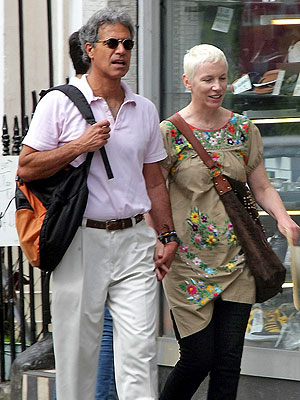 annie lennox marries dr mitch besser peoplecom