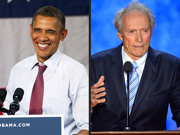 President Barack Obama Says Clint Eastwood Is 'A Great Actor'