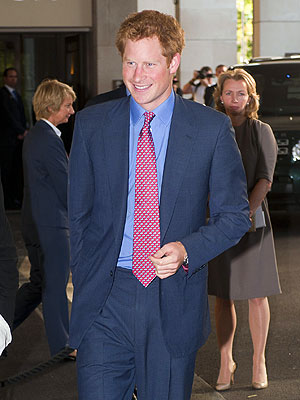 Prince Harry Photos Not a Topic of Discussion at Charity Event