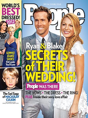 Ryan Reynolds, Blake Lively wedding -- how they kept it a secret