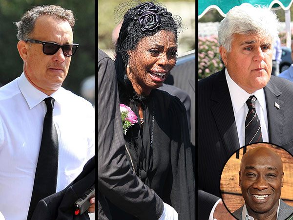 Michael Clarke Duncan's Funeral: Jay Leno, Tom Hanks Speak