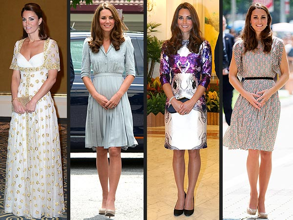 Kate Middleton Style: Asia Tour Dresses