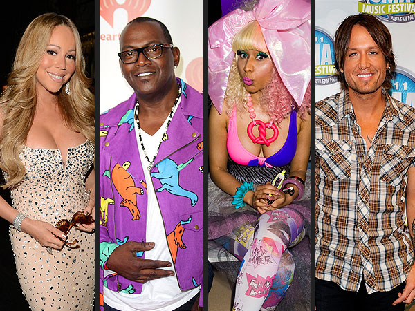 Nicki Minaj & Keith Urban Join Mariah Carey on American Idol