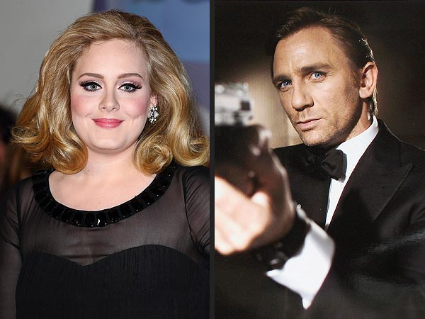 Adele Sings New James Bond 'Skyfall' Title Song
