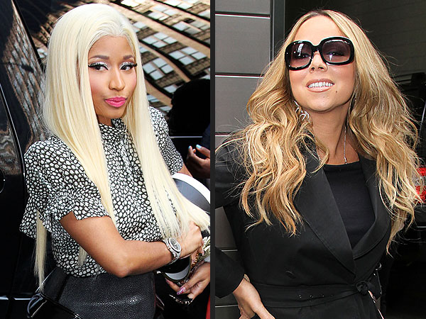 Mariah Carey, Nicki Minaj - American Idol Feud