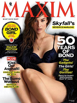 Bond Girl Berenice Marlohe Missed Naked Daniel Craig