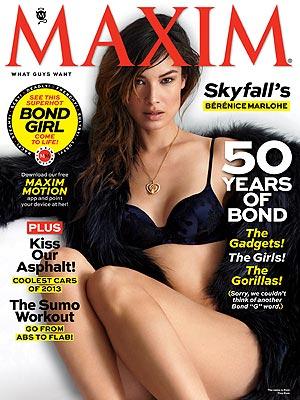 Bond Girl Berenice Marlohe Missed Naked Daniel Craig