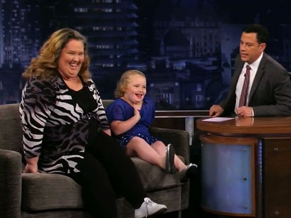 Honey Boo Boo Alana Thompson & Mama June Shannon Make Late Night Debut on Jimmy Kimmel Live